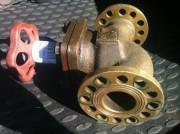 Клапан невозвратно-запорный проходной ДУ-50 522-35.4151-02