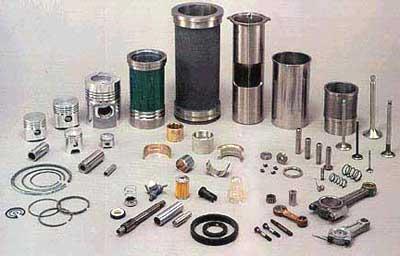 Сменные и запасные части, комплектующие, РТИ и ЗИП