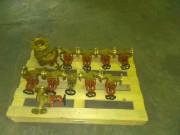 Клапан запорный проходной 521-35.3382 Ду40, Задвижка клинкетная фланцевая двухдисковая 532-01.017 Ду100