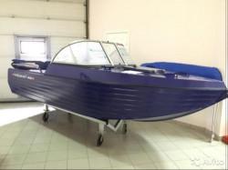 Алюминиевая лодка Trident 450 PRO