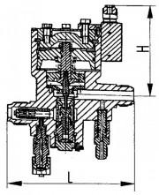 Клапан дроссельный штуцерный 525-35.2627