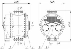 Охладитель ВХД-12,5, ВХД-10, ВХД-5