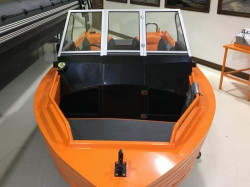 Алюминиевая лодка Trident 450 Fish