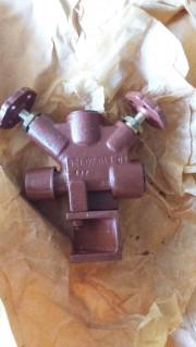 Клапан для манометра штуцерный сальниковый ДУ-6 РУ-100 521-02.013-02, 521-35.3404-02
