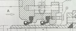Дейдвудное уплотнение линии вала Simplex-Compakt SKF Blom & Voss (эквивалент)
