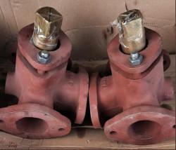Кран (клапан) трехходовой Ду 60 / 55 система охлаждения NVD 36