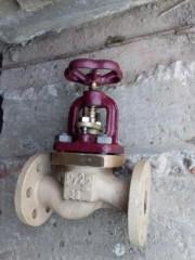 Клапан невозвратно-запорный фланцевый проходной Ду 32 522-01.172