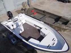 Алюминиевая лодка Trident Zvezda 400 + 4-х тактный мотор Yamaha F5