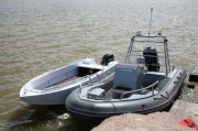 Алюминиевая лодка Trident 450 C