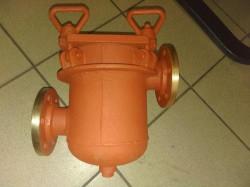 ФЗВ 427-03.107-2 Фильтр забортной воды фланцевый проходной сетчатый ДУ-50, РУ-4